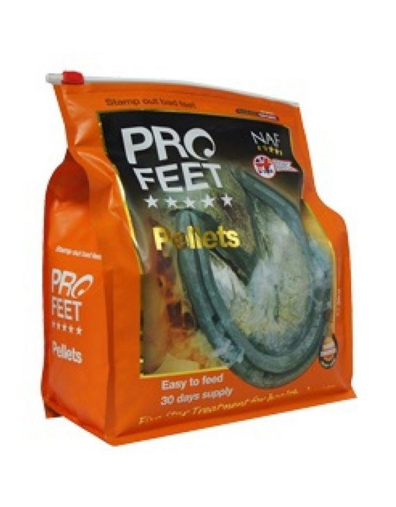 Средство для роста копыт и защиты от заломов и трещин ProfeetPellets, NAF 5 Stars
