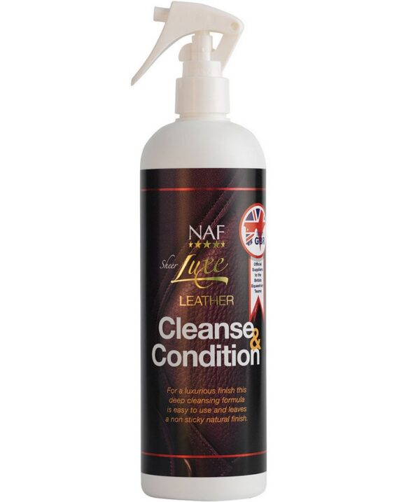 Спрей для кожи Sheer Luxe Leather Cleanse & Condition, NAF 5 Stars